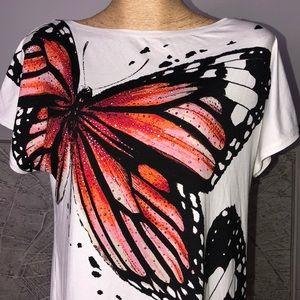 St. John Tops - New St. John butterfly top Size M-L